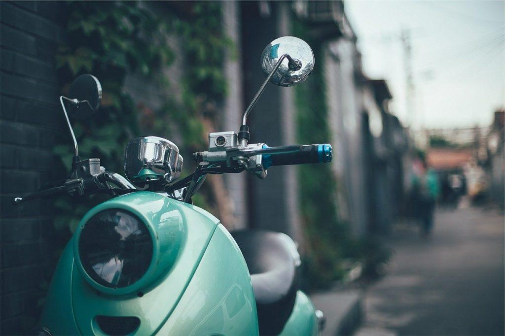 קלנועית ברחוב